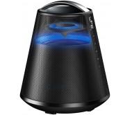 FREESOUND65-BK nešiojamas Bluetooth grotuvas su LED pašvietimu, įkraunamas