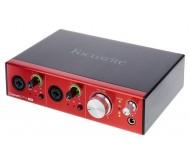 Focusrite Clarett 2 Pre USB audio sąsajos įrenginys