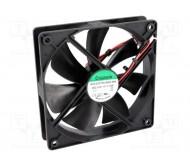 HAC0251S4 ventiliatorius 120x120x25mm 12Vdc 1.9W