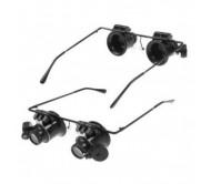 I-AG480 didinamieji akiniai su LED pašvietimu 20X