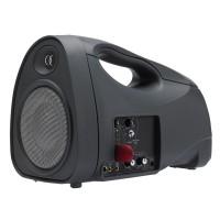 JOGGER50 nešiojama gido sistema su akumuliatoriumi, belaidžiu rankiniu UHF mikrofonu, USB grotuvu, 50Wrms 5''