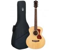 JUMBO JUNIOR akustinė gitara su įgarsinimu ir dėklu