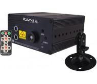 LAS160P-MKII lazeris: raudonas ir žalias, 3W mėlynas LED