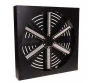 LED FAN RGB judantis šviesos efektas - ventiliatorius, 486x RGB LED