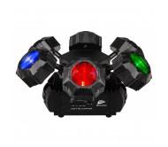 LED HELICOPTER šviesos efektas 6x 8W RGBW LED
