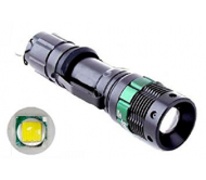 LED0014/Q5 žibintuvėlis metalinis LED Q5 5W XPE su ZOOM funkcija