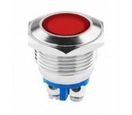 LED0159 signalinė lemputė raudona 230V 18mm
