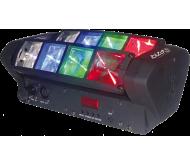 LED8-MINI šviesos efektas judančiomis galvomis 8x 3W RGBW
