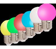 LEDSTRING-6BULBS lempučių rinkinys girliandai, 6 vnt. IP44 0.5W LED, E27