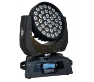 "LMH460Z-2 LED WASH 36x 10W RGBW ""judančios galvos"" šv. efektas"