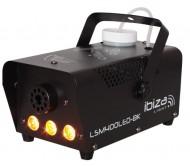 LSM400LED-BK dūmų mašina su 3xLED gintarinės spalvos 400W