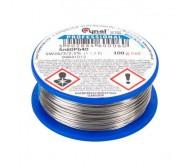 LUT0105-100 lydmetalis 0.70mm/100g Sn60Pb40