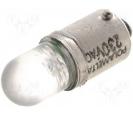 LW-230V-AC lemputė LED BA9S; 230VDC; 750mW
