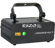 LZR200RGB-MULTI lazeris DMX, RGB 200mW