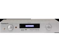 MAD1400BT-SL stiprintuvas 2x150Wrms@8omų, FM/USB/SD/DVD/AUX/Bluetooth