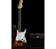 MADISON-EL10SUN elektrinės gitaros komplektas