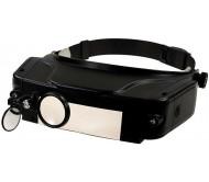 MG81007-C didinamieji akiniai ant galvos su pašvietimu 1.5X,3X,9.5X,11X
