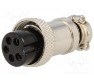 MIC325 mikrofono kabelio lizdas PIN:5