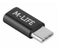 ML0850B adapteris microUSB - USB C tipo