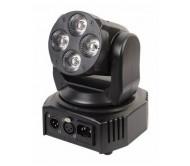 MMH410 šv.efektas - judanti galva WASH, 4x 10W LED RGBWA+UV MOXO