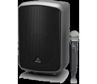 MPA200BT garso sistema su akumuliatoriumi ir belaidžiu mikrofonu, USB/DSP/Bluetooth 200W 8