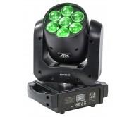 MY712-Z šviesos efektas - judanti galva su ZOOM funkcija, 7x12W LED RGBW