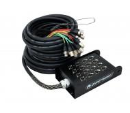 Multikorinis kabelis OMNITRONIC Multicore Stagebox 12/4 30m