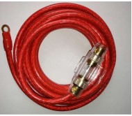 NE1733 5M-4GA lizdas automobilio saugikliui su saugikliu, 5m 4GA kabelis