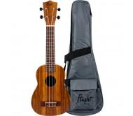 NUS200 soprano ukulelė su dėklu