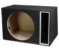 OB.MDF.13.BK dėžė automobiliniam garsiakalbiui MDF 70l 380mm
