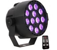PAR-MINI-RGB3 šv.efektas 12x 3W RGB LED