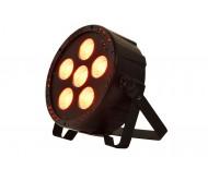 PAR180+UV prožektorius 6 x 30W RGB+UV COB LED