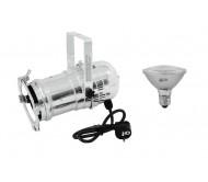 PAR30S prožektorius sidabrinis + lempa SMD 11W E-27 LED 3000K
