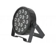 PAR56 šv.efektas 18x 1.5W RGB LED