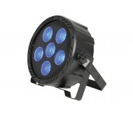 PAR64 prožektorius 6x 30W 3-in-1 COB RGB LED
