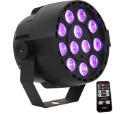 PARBAT-RGB3 prožektorius PAR CAN 12x 3W 3-in-1 RGB LED