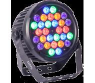 PARLED-302IR prožektorius 30x 2W RGBA-UV LED