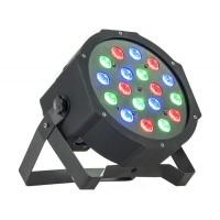 PARLED181 prožektorius LED 18x 1W raudoni-mėlyni-žali