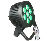 PARLED712IR prožektorius LED 7x 12W RGBWA-UV 6-in-1