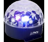PARTY-ASTRO6 šv.efektas 6x 1W RGBWAV LED