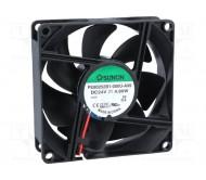 PE80252B1-A99 ventiliatorius 80 x 80 x 25 mm