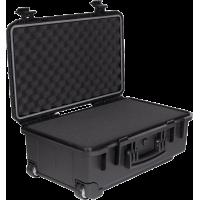 PFC-05 transportavimo dėžė, atspari vandeniui IP67 su ištraukiama rankena ir ratukais