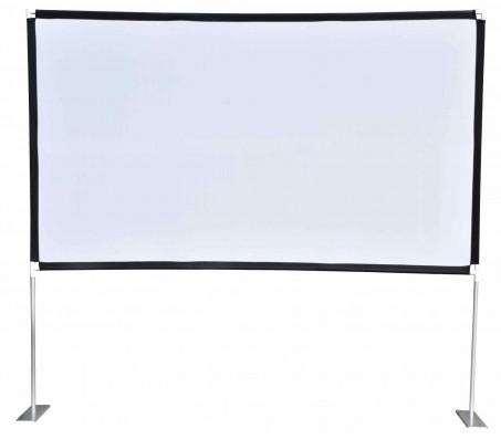PFFS100 nešiojamas projektoriaus ekranas