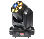 PLUTON30-WASH šv.efektas - judanti galva, 30W LED SPOT + 6x 12W 6-in-1 LED WASH