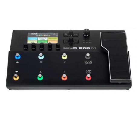 PODGO multi-efektų pedalas elektrinei gitarai