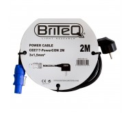 POWER CABLE CEE7/7 maitinimo laidas PowerCON, 2m