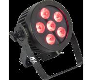 PROPAR6-HEX prožektorius LED RGBWA-UV 6x12W