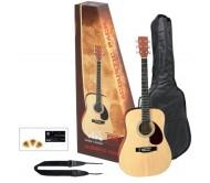 PS502210 akustinės gitaros komplektas