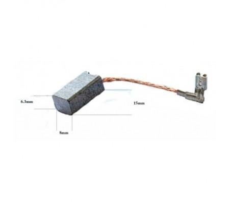 PTCB039 anglinis šepetėlis 6,3x8x15 METABO juostiniams šlifuokliams