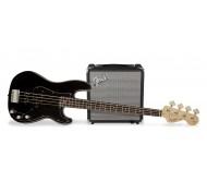 R15V3 PJ BASS PACK BLK bosinės gitaros komplektas